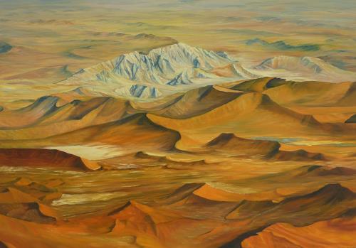 Theresia Züllig, namib.Wüste, Nature: Earth, Landscapes: Hills, Naturalism