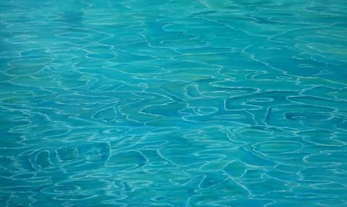 Theresia Züllig, Lichtspiele auf dem Ozean, Landscapes: Sea/Ocean, Nature: Water, Naturalism