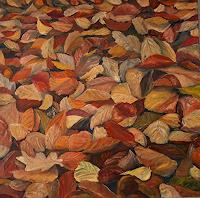 Theresia-Zuellig-Miscellaneous-Plants-Landscapes-Autumn-Modern-Age-Impressionism