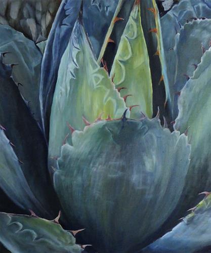 Theresia Züllig, Kaktuswunder, Miscellaneous Plants, Nature: Miscellaneous, Naturalism, Expressionism