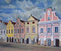 Theresia-Zuellig-Buildings-Houses-Interiors-Villages-Modern-Times-Realism