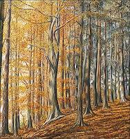 T. Züllig, Im Herbstwald
