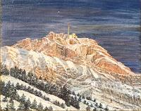 Theresia Zuellig Art Landscapes: Mountains Landscapes: Winter Modern Times Realism