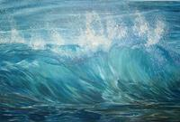 Theresia Zuellig Art Nature: Water Landscapes: Sea/Ocean Modern Times Realism