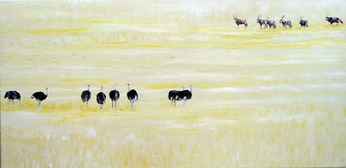 Theresia Züllig, Tiere in Namibia, Animals: Land, Nature: Earth, Naturalism