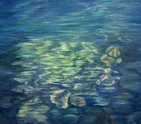 Theresia Zuellig Art Landscapes: Sea/Ocean Nature: Water Modern Age Naturalism