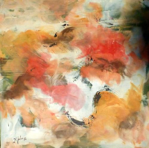 Jahn dArte (Klaus Eduard Jahn), Blütenduft, Poetry, Contemporary Art, Expressionism