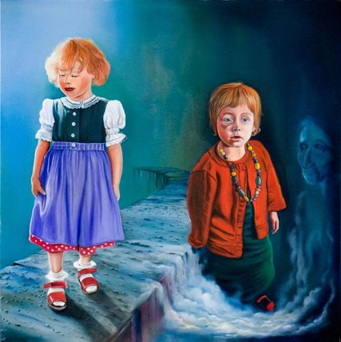ingo platte, Prinzessin, People: Children, Society, Hyperrealism, Abstract Expressionism