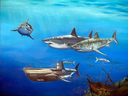 ingo platte, Evolution, Nature: Water, Animals: Water, Hyperrealism