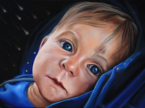 ingo platte, Sternschnuppen, People: Children, Society, Realism, Expressionism