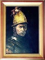 S. Achrem, Der Mann im Goldhelm