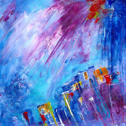katarina niksic, Schlaflos in Seattle, Abstract art, Abstract Art