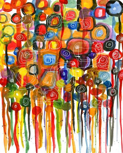 katarina niksic, B U N T, Abstract art, Modern Age