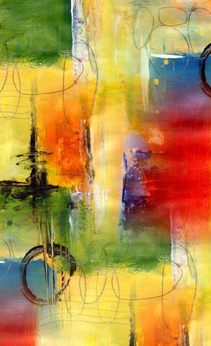 katarina niksic, Lichtkorridor, Decorative Art, Expressionism