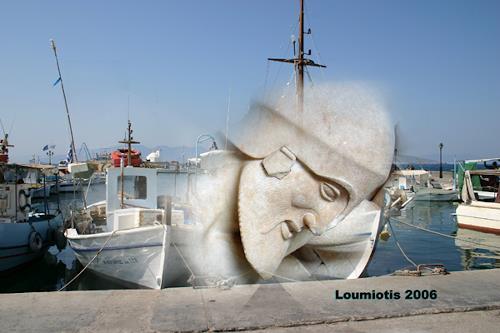 Dimitrios Loumiotis, The immigrant Marble Prisoners, Miscellaneous, Miscellaneous, Contemporary Art