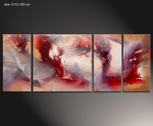 holy 5 by paul sinus abstract art decorative art painting. Black Bedroom Furniture Sets. Home Design Ideas