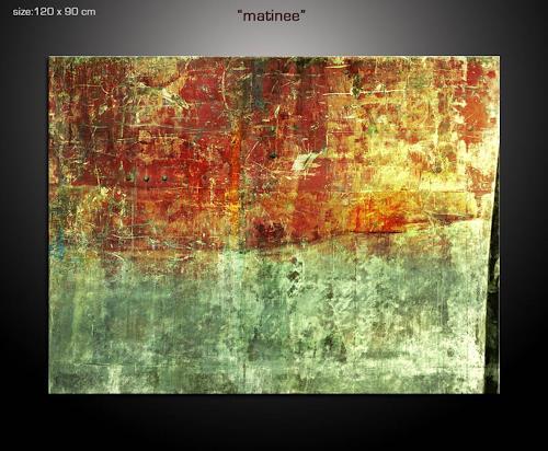 Paul Sinus, matinee, Abstract art, Decorative Art, Action Painting