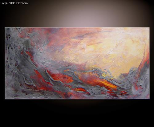 veil 2 by paul sinus abstract art fantasy painting. Black Bedroom Furniture Sets. Home Design Ideas