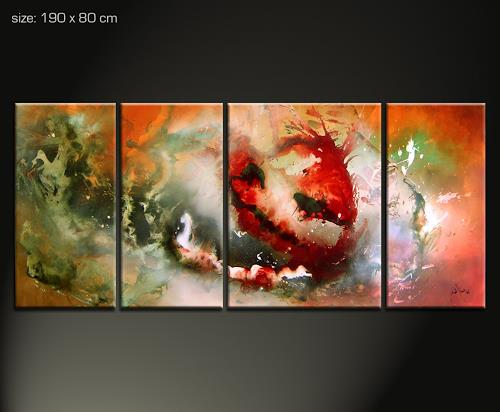 kamtschatka 2 by paul sinus abstract art painting. Black Bedroom Furniture Sets. Home Design Ideas