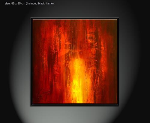 Paul Sinus, fahrenheit 3, Abstract art, Decorative Art, Action Painting