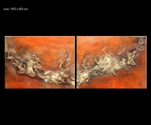 vesuv 3 by paul sinus abstract art painting. Black Bedroom Furniture Sets. Home Design Ideas