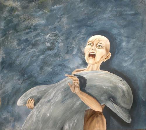 Ulrike Holbinger, Futility, Society, Animals: Water, Symbolism