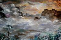Anne-Waldvogel-Landscapes-Mountains-Landscapes-Winter-Modern-Age-Expressionism