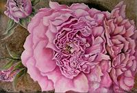 Anne-Waldvogel-Miscellaneous-Romantic-motifs-Plants-Flowers-Modern-Times-Realism