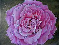 Anne-Waldvogel-Decorative-Art-Plants-Flowers-Modern-Times-Realism