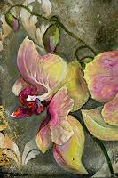 Anne-Waldvogel-Miscellaneous-Erotic-motifs-Plants-Flowers-Modern-Age-Impressionism