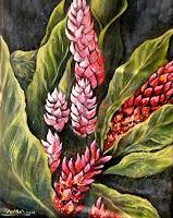 Anne-Waldvogel-Decorative-Art-Plants-Flowers-Modern-Age-Photo-Realism