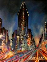 Anne-Waldvogel-Buildings-Skyscrapers-Architecture-Modern-Age-Expressive-Realism