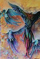 Anne-Waldvogel-Decorative-Art-Animals-Air-Modern-Age-Naturalism