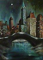 Anne-Waldvogel-Landscapes-Winter-Interiors-Cities-Modern-Age-Photo-Realism