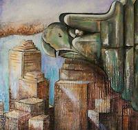 Anne-Waldvogel-Buildings-Skyscrapers-Interiors-Cities-Contemporary-Art-Contemporary-Art