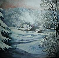 Anne-Waldvogel-Landscapes-Winter-Fairy-tales-Contemporary-Art-Contemporary-Art