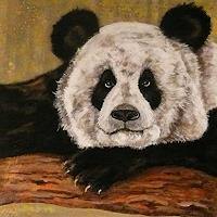 Anne-Waldvogel-Animals-Land-Decorative-Art-Modern-Times-Realism