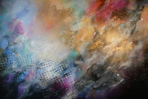 Anne Waldvogel, Abstraktion 2_16, Fantasy, Abstract art, Abstract Art