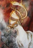 A. Waldvogel, der weiße Elch