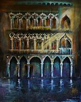 Anne-Waldvogel-Romantic-motifs-Buildings-Contemporary-Art-Contemporary-Art