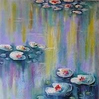 Anne-Waldvogel-Plants-Flowers-Landscapes-Modern-Age-Expressionism