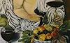 Anne Waldvogel, Bacchus nach Caravaggio - Detail
