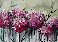 Anne-Waldvogel-Plants-Flowers-Fantasy-Modern-Age-Expressive-Realism
