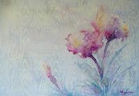 Anne-Waldvogel-Abstract-art-Plants-Flowers-Modern-Age-Impressionism