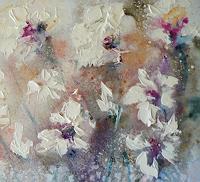 Anne Waldvogel, zarte Blüten _ Detail