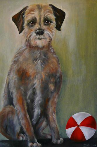Anne Waldvogel, Terrier STRUPPI, Animals: Land, Contemporary Art