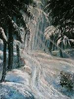Anne-Waldvogel-Fantasy-Landscapes-Winter-Contemporary-Art-Contemporary-Art