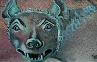 A. Waldvogel, röm.Bronze Statue (Romulus und Remulus)