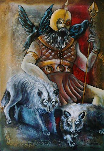 Anne Waldvogel, Odin (auch Wodan), Fairy tales, Historism