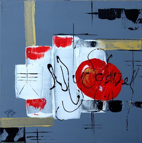 Brigitte Kölli, Appel, Abstract art, Meal, Contemporary Art